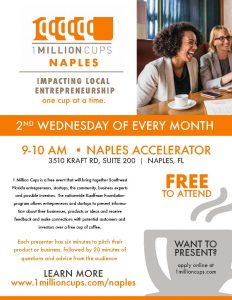 1 Million Cups® Naples @ Naples Accelerator |  |  |