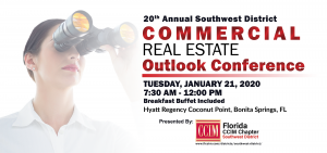 20th Annual Commercial Real Estate Outlook Conference @ Hyatt Regency Coconut Point