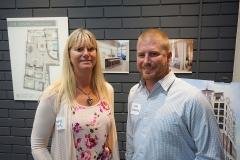 Tammy Hynes and Scott LoVecchio