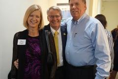 Nina and Don Paight with Bruce Grady-