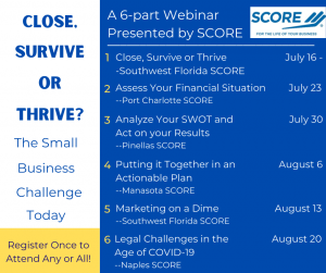 Close, Survive or Thrive @ Online Free Webinar