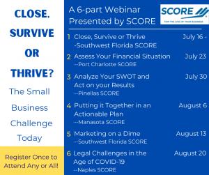 Close, Survive or Thrive @ Online Free Webinar